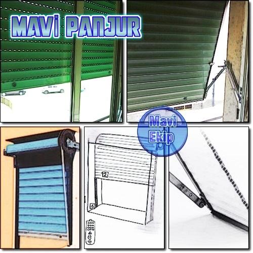 Mavi Panjur , Panjur Uygulayıcısı, Panjur İmalat, Panjur Montaj, 0532 245 00 78