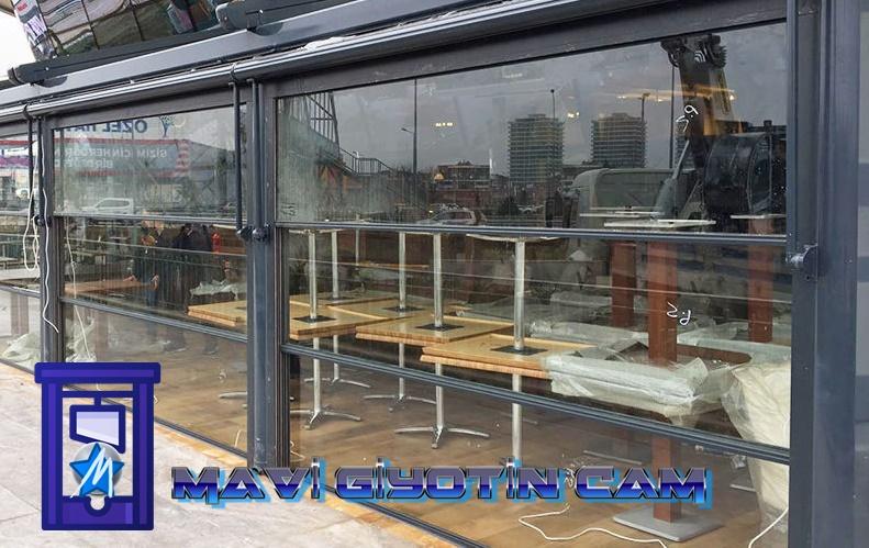 Giyotin cam, Giyotin cam sistemleri,   cafe cam sistemleri, 0532 245 0078