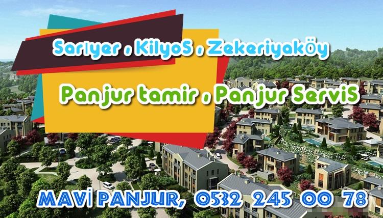 Sarıyer, Kilyos, Zekeriyaköy, Panjur tamir, Panjur servis, MAVİ PANJUR, 0532 245 0078
